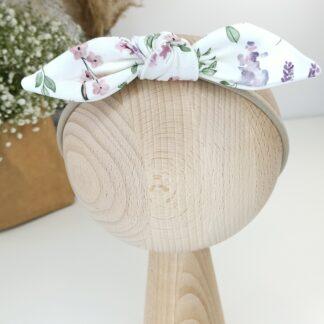 Opaska na gumce - polne kwiaty 1