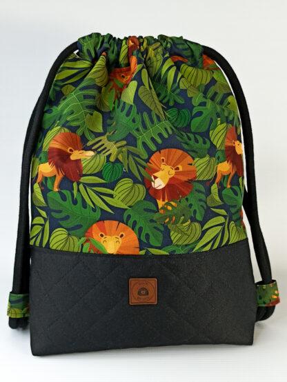 Worko-plecak czarny + Afryka